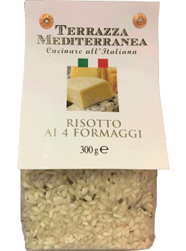 Risotto ai 4 Formaggi (aux 4 fromages)