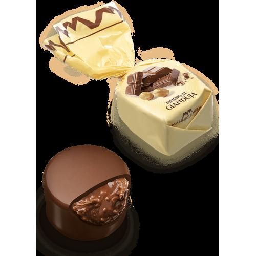 Chocolat fourré au gianduja (de 100g à 1kg)