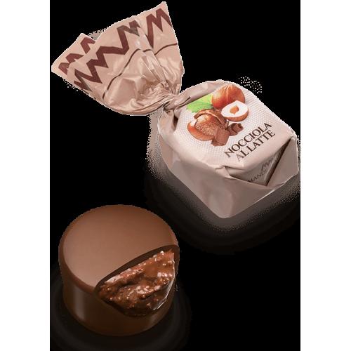Chocolat au lait fourré aux noisettes (de 100g à 1kg)