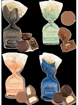 Ciocco velvet chocolat goûts mix (de 100g à 1kg)