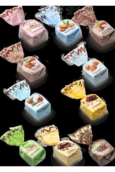 Chocolats fourrés - goûts mix (de 100g à 1kg)