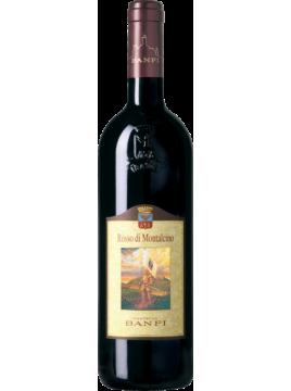 Rosso di Montalcino DOC Banfi 2018 - étiquette abimée