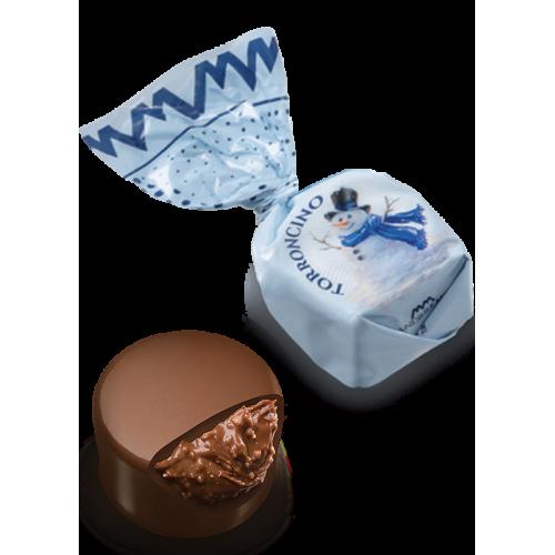 Chocolat fourré au nougat (de 100g à 1kg) - édition Noël