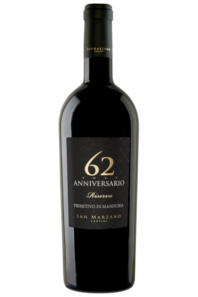 """ANNIVERSARIO 62"" Primitivo di Manduria Riserva DOP 2014"