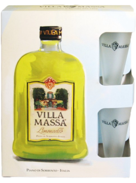 Coffret Limoncello VILLA MASSA 70cl