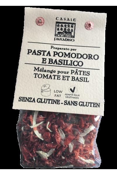 Mélange pour pâtes aux tomates et basilic