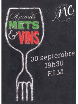 Diner Accords mets & vins italiens