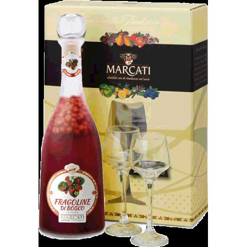 Coffret 2 verres Fragoline di Bosco