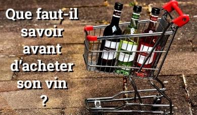 Acheter sa bouteille : que faut-il savoir avant d'acheter son vin ?