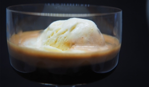 Affogato à la Grappa