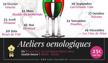 Ateliers oenologiques 2019