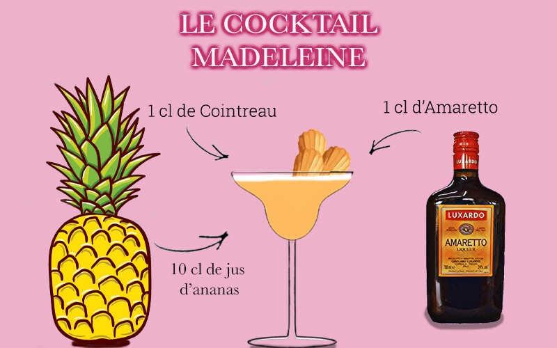 Cocktail Madeleine