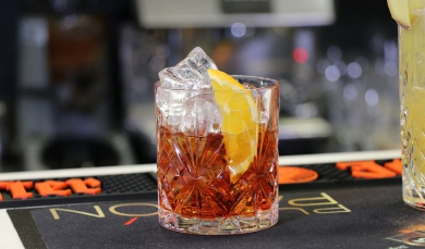 Cocktail Rosso Antico  ou Bitter - Negroni