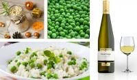 """Quel vin servir avec un """"Risi Bisi"""" ou risotto aux petits pois ?"""