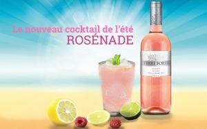 Rosénade, le cocktail de l'été